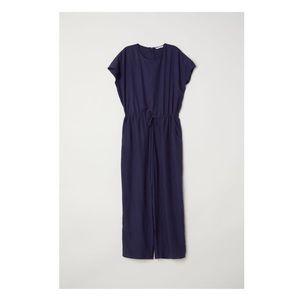 Dark Blue H&M Wide-leg Jumpsuit